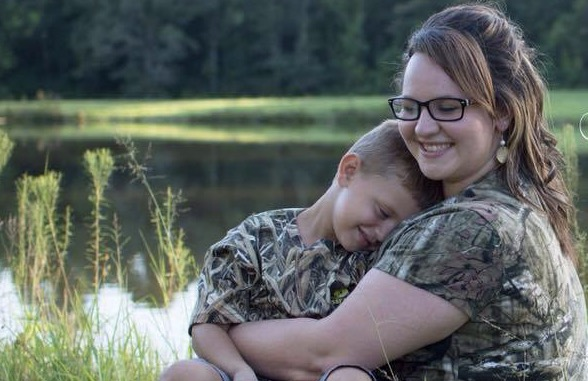 Chelsea Anne Dueitt is a long-distance mother in long-term recovery.